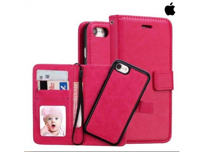 Roybens Bussines knižkový obal pre iPhone ružový (1)