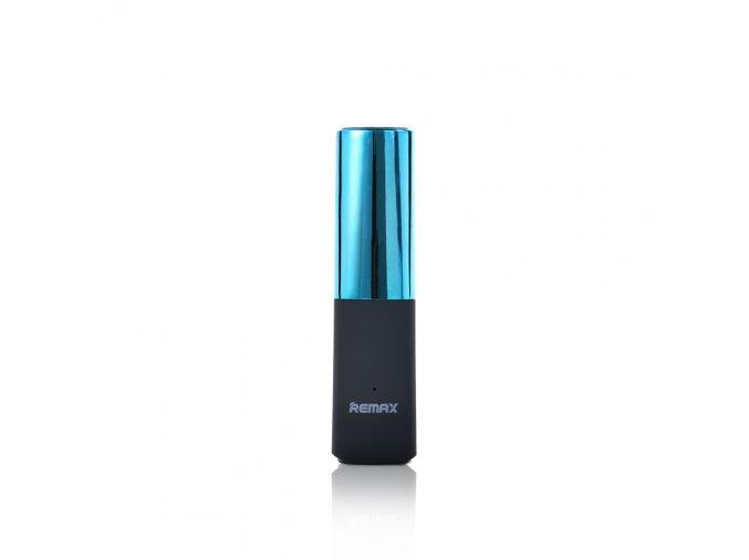 Remax Lipstick 2400mAh Cyan (1)