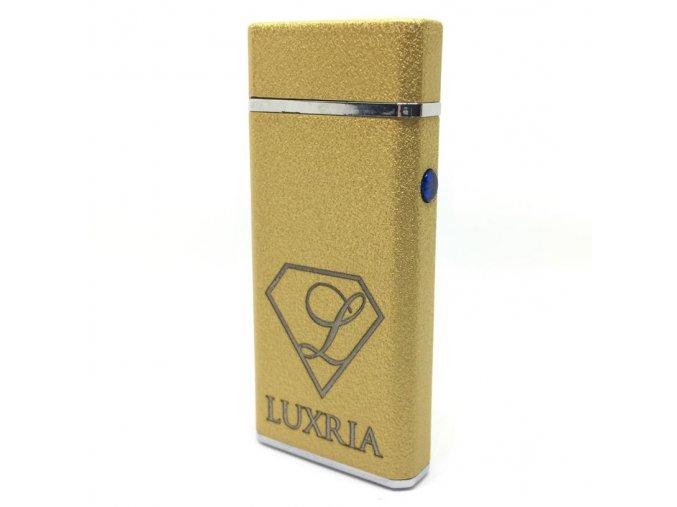 Plazmový Zapalovač Luxria Simple Zlatý (1)
