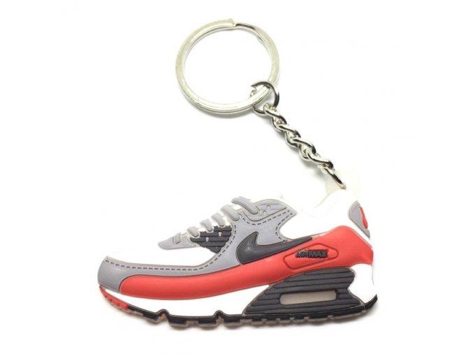 Prívesok Nike Air Max 90 Červená (1)