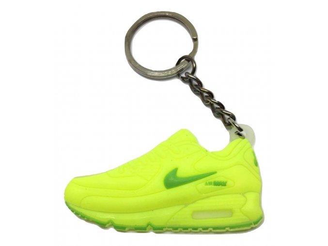 Prívesok Nike Air Max 90 Neonová žltá (1)