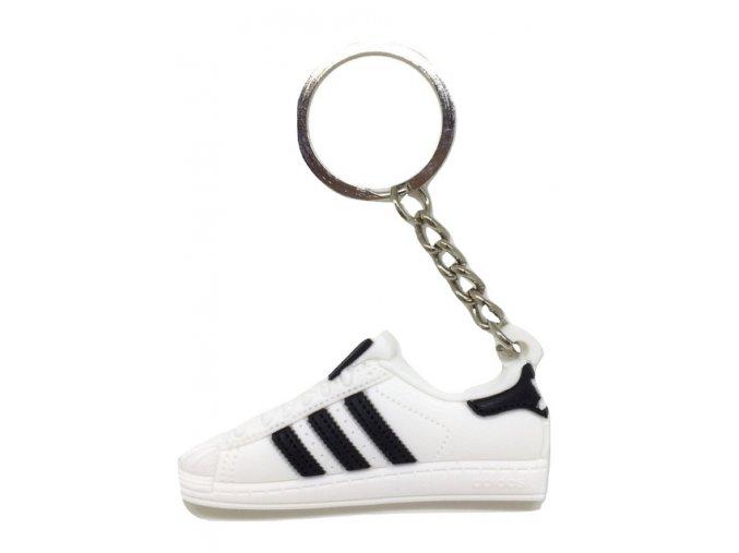 Prívesok Adidas Superstar Biela (1)