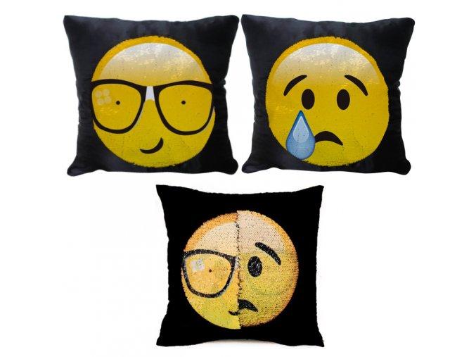 Meniaci Emoji Vankúš (9)