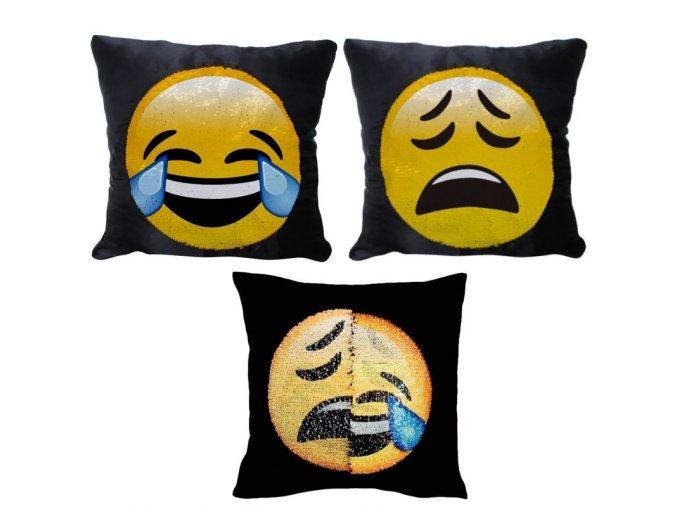 Meniaci Emoji Vankúš (3) kópia