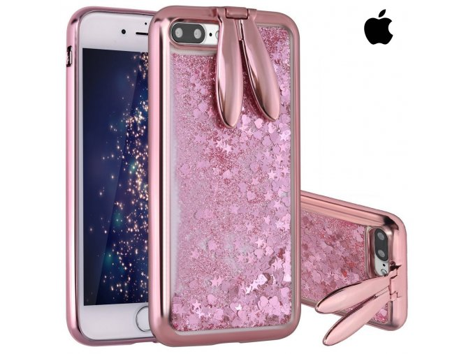 Glitter Rabbit Rose Gold iPhone (1)