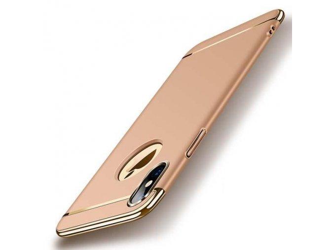Majestic Gold obal pre iphone X zlatý (1)
