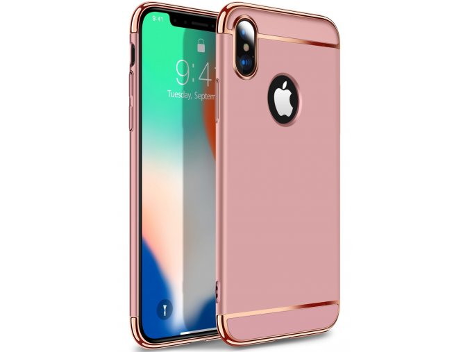 Majestic Gold obal pre iphone X rose gold (2)