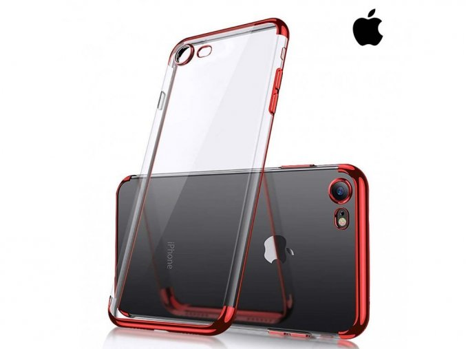 Silikónové Púzdro Roybens Basic pre iPhone - Červené (XS, X, 8 Plus, 7 Plus, 8, 7, 6s Plus, 6 Plus, 6s, 6)  + Dotykové pero zadarmo