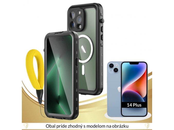 Odolné Vodotesné púzdro Luxria Resistant pre Apple iPhone Čierne (certifikované) 1
