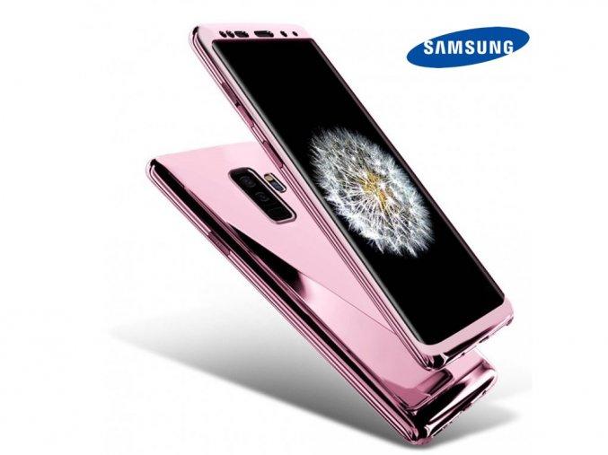 Chrómove púzdro Roybens Premium pre Samsung - Ružové  + Ďaľší obal od nás ako darček