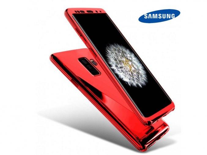 Chrómove púzdro Roybens Premium pre Samsung - Červené  + Ďaľší obal od nás ako darček