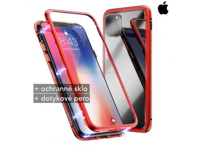 Magnetické púzdro Roybens Magnetic pre iPhone - Červené 1