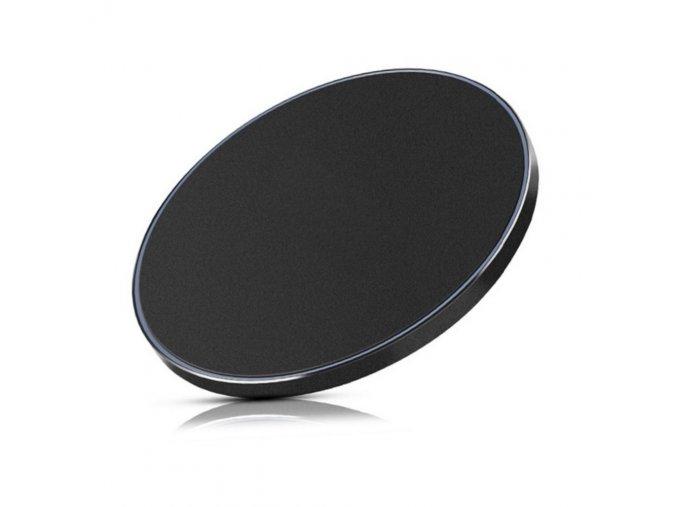 Led Circle Bezdrôtová nabíjačka čierna (1)