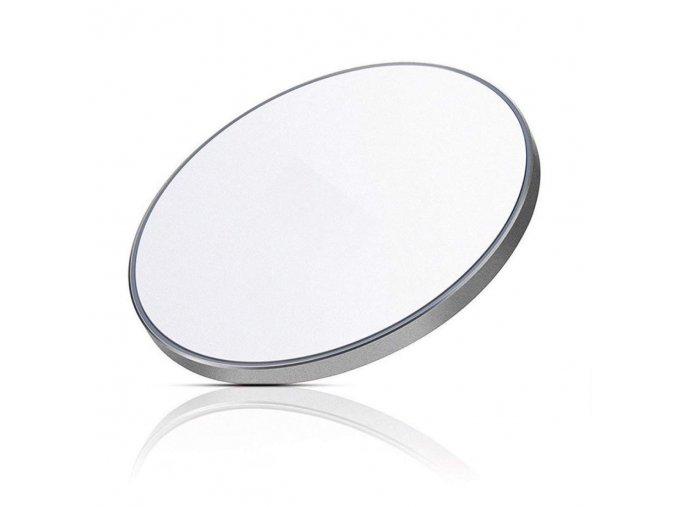 Led Circle Bezdrôtová nabíjačka biela (1)