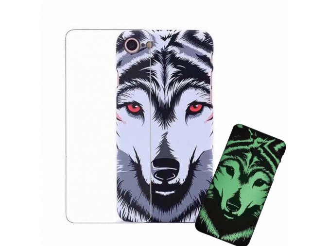 Luxo Phosphorus Aztec - Wolf (iPhone, Samsung, Huawei, Xiaomi) 1