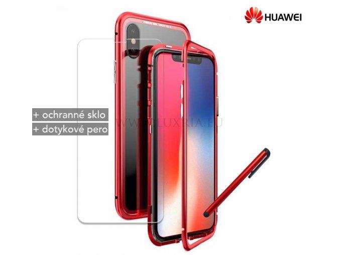 Magnetické púzdro Roybens Magnetic pre Huawei - Červené 1