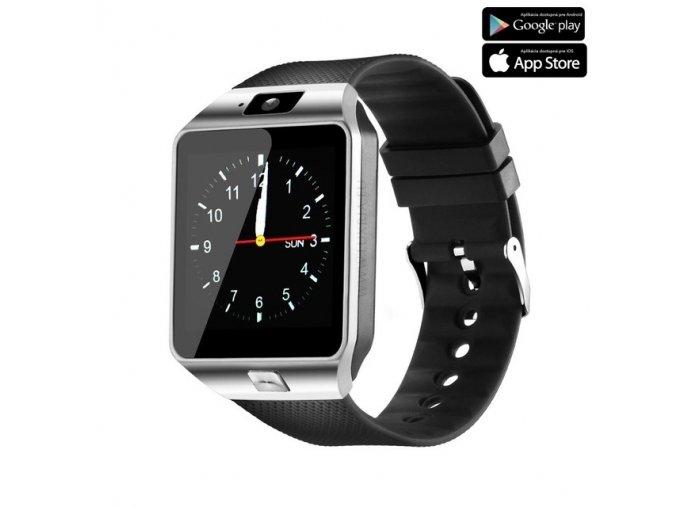 Luxria Smarty DZ09 - Strieborné inteligentné hodinky 1