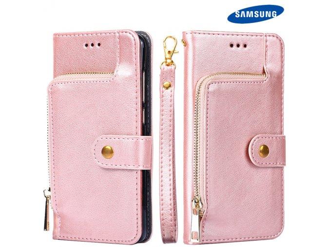 Luxusny penazenkovy obal Luxria pre iPhone, Samsung a Huawei 16