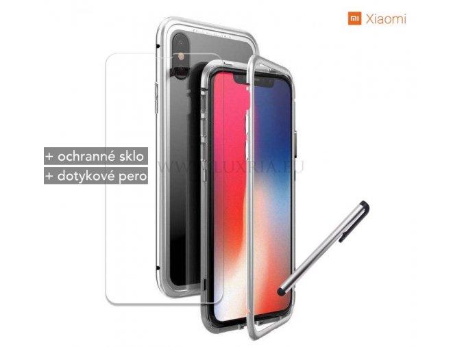 Magnetické púzdro Roybens Magnetic pre Xiaomi - Strieborné 1