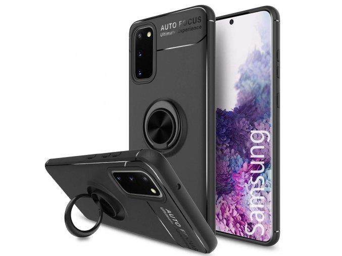 Multifunkčné magnetické púzdro Luxria Ring pre iphone, samsung, huawei a xiaomi 20