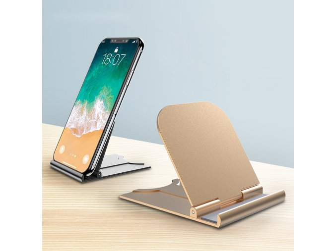 Roybens Mini Stand Drziak, stojan na stol pre mobilny telefon, tablet, ipad, smartphone 4