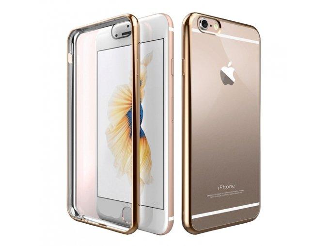 Luxria Elegantná zlatá iPhone obal 1