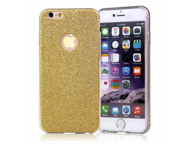 Trblietavá Zlatá iPhone Obal Luxria 1