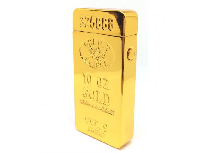 Plazmový Zapalovač Gold Ounce Luxria 1