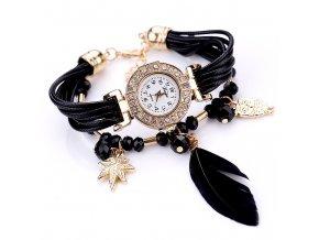 Black Feather Hodinky Luxria 1