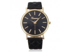 Elegant Glossy Black Hodinky Luxria 2