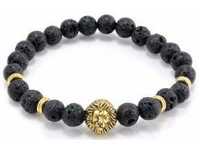 Old Gold Lion náramok Luxria 1