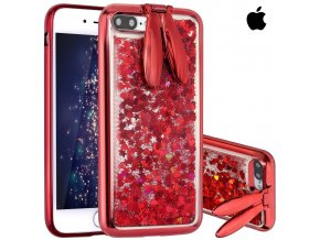 Glitter Rabbit Red iPhone (1)