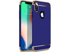 Majestic Gold obal pre iphone X modrý (3)