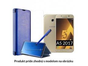 Otváracie Púzdro Roybens Clear View pre Samsung - Modré 1