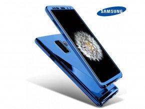 Chrómove púzdro Roybens Premium pre Samsung - Modré  + Ďaľší obal od nás ako darček