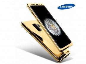 Chrómove púzdro Roybens Premium pre Samsung - Zlaté  + Ďaľší obal od nás ako darček