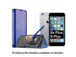 Otváracie Púzdro Roybens Clear View pre Apple iPhone modre