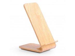 Bezdrôtová nabíjačka A8 10W Svetlé drevo (1)