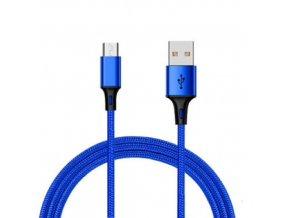 Durable Cable Modrý nabíjací usb kábel pre iPhone, Android, type c, micro usb, lighting (1)
