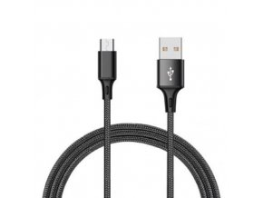Durable Cable Čierny nabíjací usb kábel pre iPhone, Android, type c, micro usb, lighting (1)