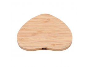 Luxria Wood ChargePad Drevená bezdrôtová nabíjačka srdce 10W