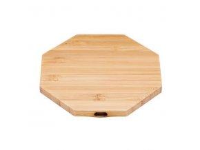 Luxria Wood ChargePad Drevená bezdrôtová nabíjačka hexagon 10W
