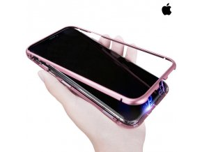 Roybens Magnetic Rose Gold Magnetický obal pre iPhone 1