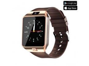 Luxria Smarty DZ09 - Medené inteligentné hodinky