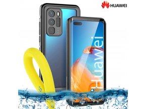 Odolné Vodotesné púzdro Luxria Resistant pre Huawei Čierne (certifikované) 1