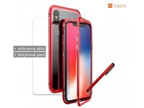 Magnetické púzdro Roybens Magnetic pre Xiaomi - Červené 1