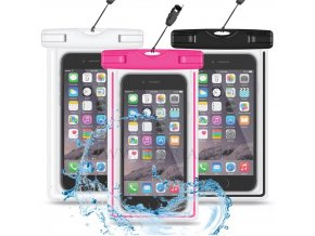 Univerzalny vodotesny obal pre mobilne zariadenia v troch farbach 1