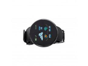 Luxria SportWatch D18 - Čierne športové smart hodinky