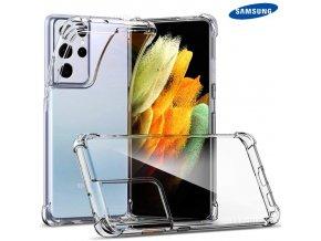 Silikónové Púzdro Luxria Clear Absorb pre Samsung Priehľadne