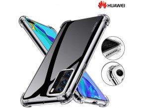Silikónové Púzdro Luxria Clear Absorb pre Huawei Priehľadne